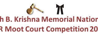 6th B. Krishna Memorial National IPR Moot Court Competition 2014 webcast